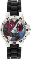 Marvel Kids Character Silicone Strap Watch with Molded Head Storage Case