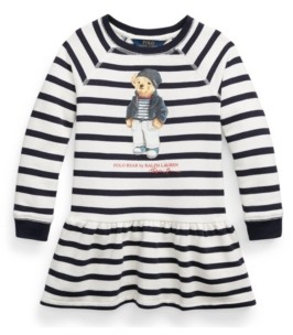 Polo Ralph Lauren Toddler Polo Bear Fleece Dress