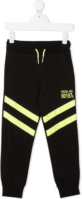 Diesel Stripe-Trimmed Sweatpants