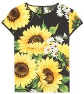 Dolce & Gabbana Printed cotton blouse