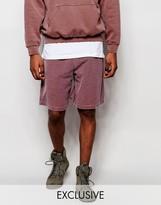 Reclaimed Vintage Shorts In Overdye