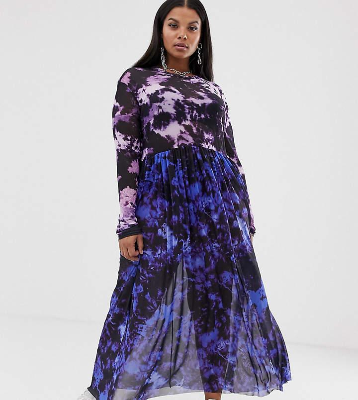 cd20bc03c3f3 Plus Size Tie Dye Dress - ShopStyle