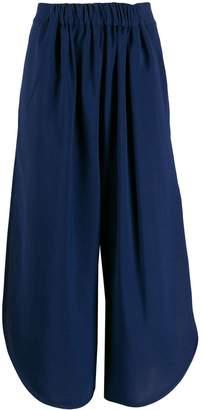 Henrik Vibskov colour block cropped trousers