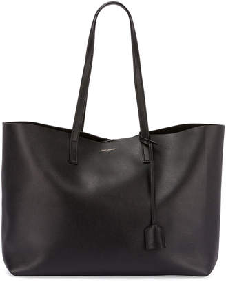Saint Laurent Smooth East-West Shopping Tote Bag