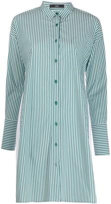 Steffen Schraut Striped Shirt Dress
