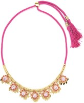 Juicy Couture Moroccan Floral Statement Necklace
