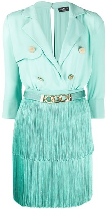 Elisabetta Franchi Mini Shirt Dress