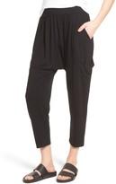 Eileen Fisher Women's Slouchy Jersey Crop Pants