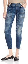Buffalo David Bitton Women's Faid Midrise Skinny Porkchop Pocket Jeans