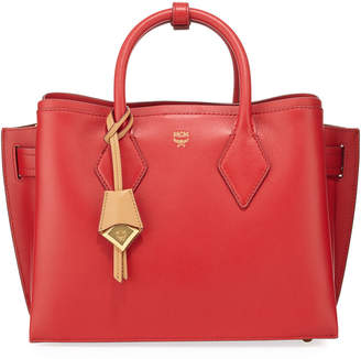 MCM Neo Milla Medium Leather Tote Bag