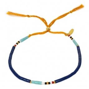 Shashi Navajo Bracelet Cobalt Blue