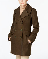 Anne Klein Wool-Blend Peacoat