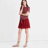 Madewell Eyelet Mini Skirt