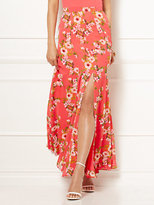 New York & Co. Eva Mendes Collection - Jana Printed Maxi Skirt - Petite