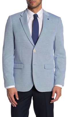 Soul Of London Two Button Notch Lapel Blazer