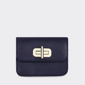 Tommy Hilfiger Leather Turnlock Wallet