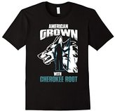 Cherokee Men's American Grown With Root T Shirt Gift Small