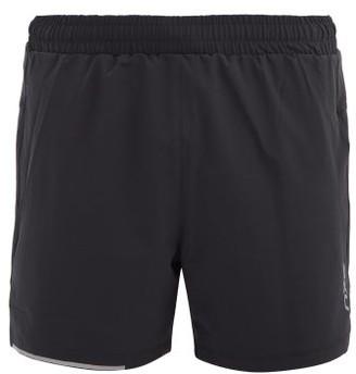 2XU Xvent Reflective-logo Shorts - Black Silver