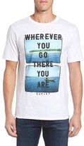 Hurley Men's 'There You Are' Graphic T-Shirt