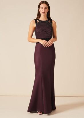 Phase Eight Sofia Beaded Bodice Dress