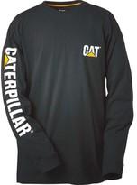 Caterpillar Trademark Banner Long Sleeve Tee (Men's)