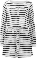 Gestuz Women's Deidre Belted Waist Shift Dress White/Black