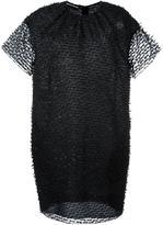 Rochas sheer layer dress - women - Polyamide/Wool/Silk - 38