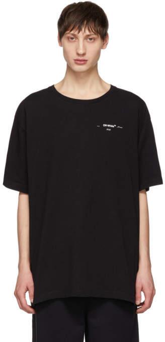 Off-White Black 3D Marker T-Shirt