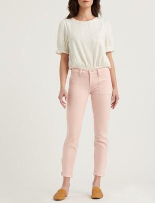 Lucky Brand Low Rise Lolita Skinny Utility W/ Ankle Zip Jean