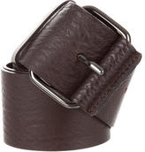 Ter Et Bantine Brown Leather Belt