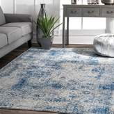 nuLoom Traditional Vintage Faded Shadow Mystique Area Rugs