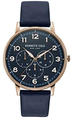 Kenneth Cole New York Men's Blue Strap Watch