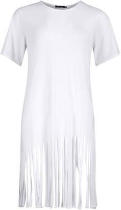 boohoo Tassel Beach Dress