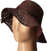 Karen Kane Women's Raffia Packable Floppy Hat