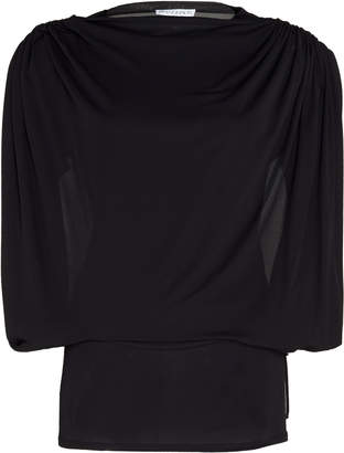 J.W.Anderson Ruched Shoulder Cinched Waist Blouse