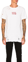 Ksubi Placebo Paradise Tee in White. - size XL (also in )