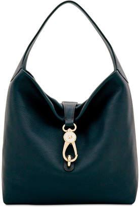 Dooney & Bourke Belvedere Lock Pebble Leather Hobo