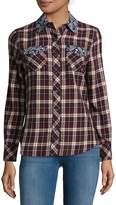 True Religion Women's Jordan Plaid Shirt