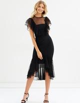 Cooper St Rosie Lace Ruffle Dress
