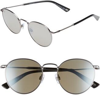 Web 51mm Round Metal Sunglasses