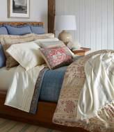 Ralph Lauren Half Moon Bay Arden Chambray & Floral Reversible Cotton Quilt