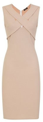 Dorothy Perkins Womens Girls On Film Cream Bodycon Dress, Cream