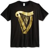 Bioworld Men's Guinness Harp Logo T-Shirt