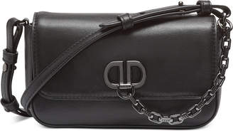 DKNY Linton Flap Demi Leather Crossbody
