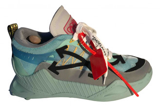 Off-White Odsy-1000 Turquoise Cloth Trainers