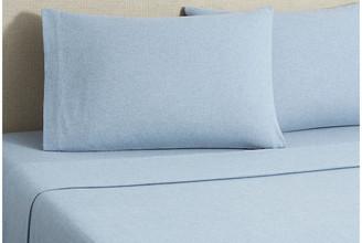 Belle Epoque Flannel Heather Sheet Set - Blue King