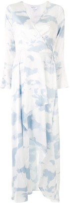 Designers Remix Tie-Dye Asymmetric Midi Dress