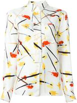 Emilio Pucci printed shirt - women - Silk - 40
