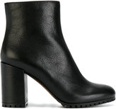 L'Autre Chose zipped ankle boots