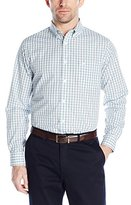 Dockers No-Wrinkle Button-Down Collar Multi Plaid Spade Pocket Shirt